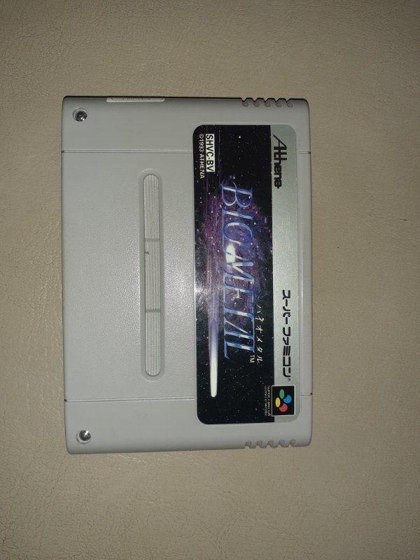 super Nintendo bio metall