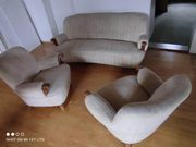 Sitzgarnitur 1 Sofa 2 Sessel