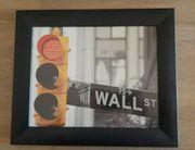 Wandbild gerahmtes Bild New York