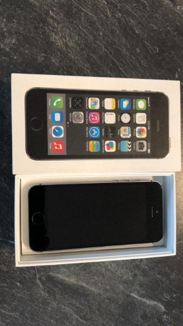 iPhone 5s 16GB in spacegrau