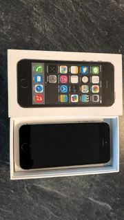 iPhone 5s 16GB in spacegrau