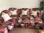 Couch ausziehbar mit Sofasessel