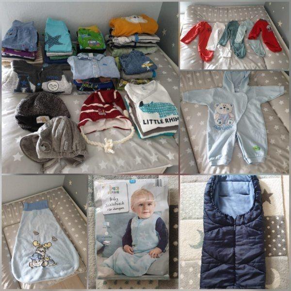 online store 57dfa a7087 Bekleidungspaket für Junge gr. 52 - 74 in Hamburg ...