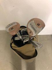 Golf Set mit Tasche