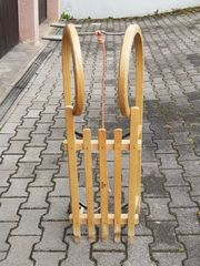 Verkaufe SIRCH Hörnerrodel - Holzschlitten
