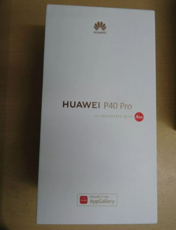 Huawei p40 pro silber frost