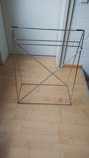 2 Tischbock Tischgestell Tischbeine verchromt