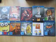 15x Blue Rays und DVDs -