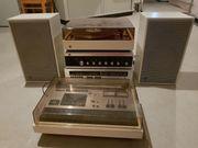 Vintage Dual Stereoanlage mit Plattenspieler