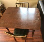Set Esstisch 2 Stühl