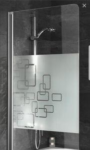 Duschwand Badewannen Glastrennwand Badewannenaufsatz zum