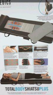 Massageliege-Massagematte-Shiatsu-Homedics inkl Tasche