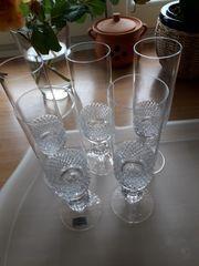 5 x Sektgläser -Kristalloptik-Spiegelau - wie