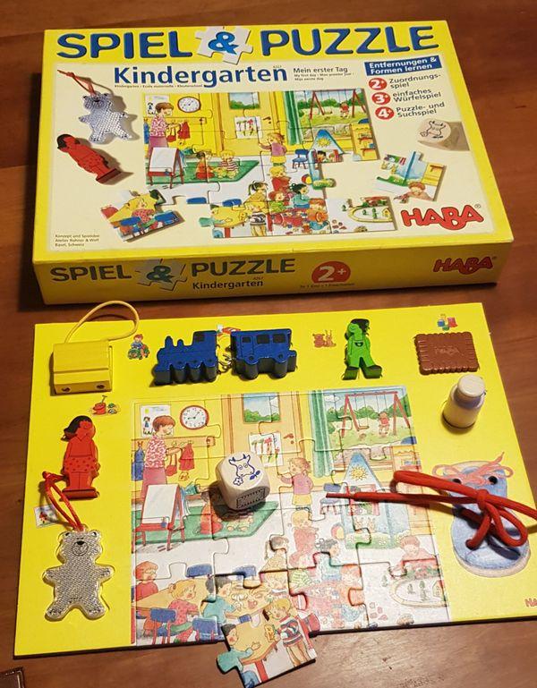 Haba Spiel Puzzle Kindergarten ab