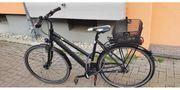 Damen Fahrrad 28 Zoll schwarz
