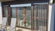 Terrassenelement streichen