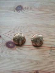 Gold vintage Clip Ohrringe Ohrclips