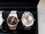 3 Automatik Uhren zu Verkaufen
