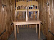 Wehrfritz Kindertisch und zwei Stühle