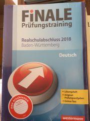 Finale Prüfungstraining originalverpackt Realschulabschluss 2018
