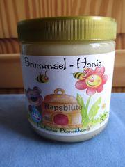 Raps Honig Brummselhonig Deutscher Bienenhonig