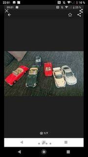 6 Modelautos inkl 2 ferngesteuerte