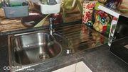 L-formige Küche inkl Elektrogeräte
