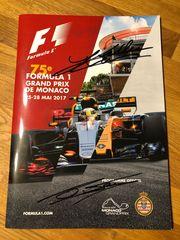 Programmheft F1 GP Monte Carlo