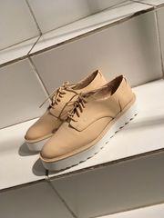 Halbschuhe Schnürschuhe Flache Schuhe Zara