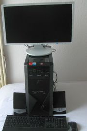 PC-Multimedia-Komplettsystem-ZALMAN-Z9-750-W-Netzteil-WLAN-Kartenleser-Monitor-Lutsprecher