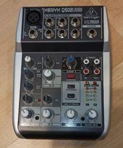 Behringer Q502USB Mixer mit USB