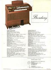 Elekrische Orgel