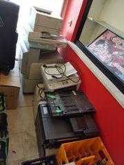 Verschiedene Drucker Kopiergeräte
