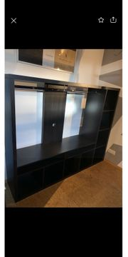 Lappland Ikea Regal schwarz