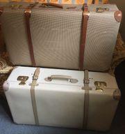 2 Koffer Oldtimer VINTAGE antik