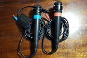 2 Playstation Singstar Mikrofone und