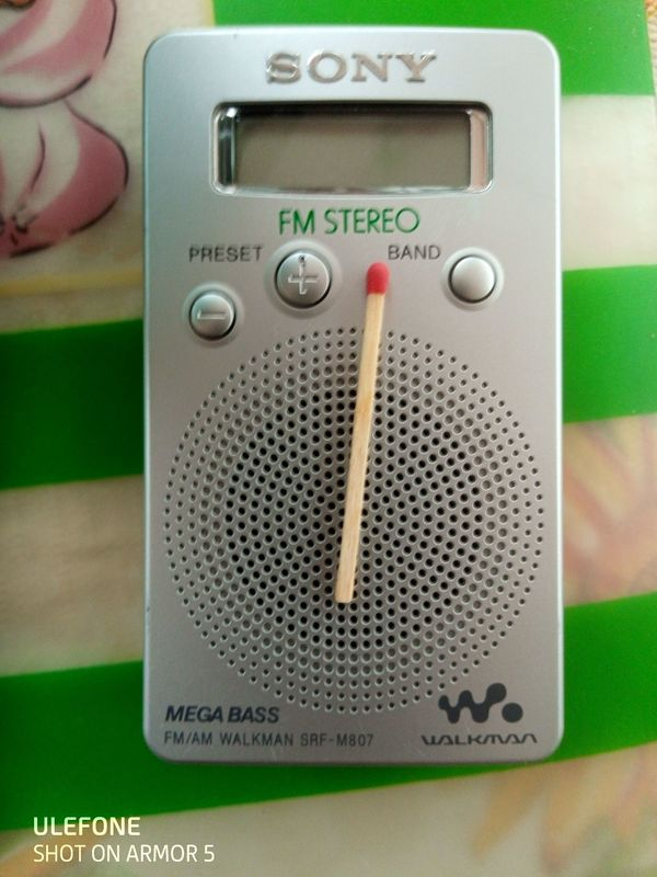 Radio Sony miniklein Stereo Kopfhöreranschluss