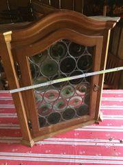 Bleiverglasung Wandkästchen gebraucht gut erhalten