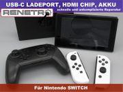 Reparatur Nintendo Switch- Ladebuchse Display