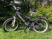 Kraftstoff Fahrrad 20 Zoll Schwarz