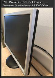 Monitor 22 Zoll Fujitsu Siemens