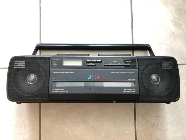 schwarzer Siemens RM921 Radio Cassetten
