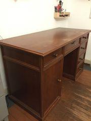 Schreibtisch vintage Holz