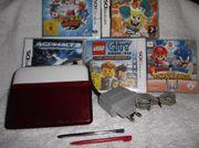 Nintendo 3DS Konsole Rot metallic