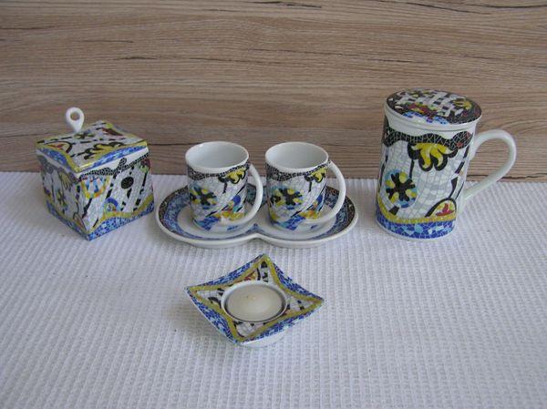 Porzellanset Kaffee Tee
