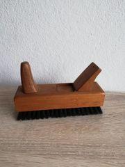 Vintage Schuhbürste gute Borsten