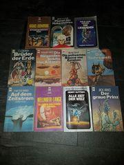 Taschenbücher alt Science Fiction 11