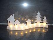 Weihnachtsdeko LED Beleuchtung Schneemann NEU