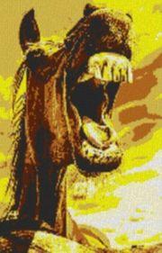 Vorlage für Ministeck Horse 60x80cm