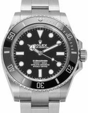 Rolex Submariner 124060 Stahl Uhr